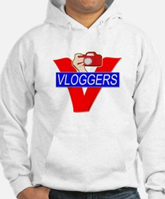 V for Vloggers with Camera Hoodie