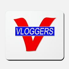 V for Vloggers Mousepad