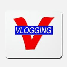 V for Vlogging Mousepad