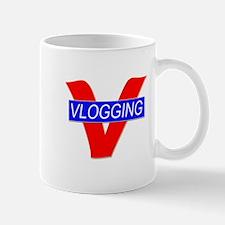 V for Vlogging Mug