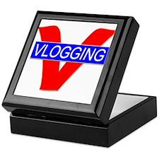 V for Vlogging Keepsake Box