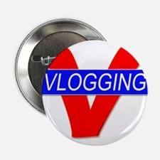 "V for Vlogging 2.25"" Button"