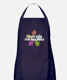 Look For The Helpers Apron (dark)