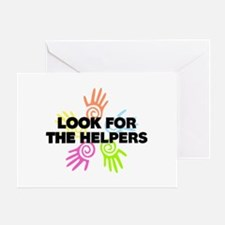 Look For The Helpers Greeting Card