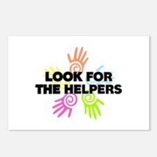 Look For The Helpers Postcards (Package of 8)