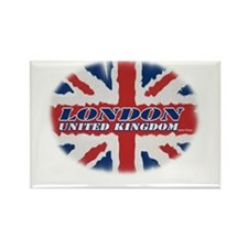 London United Kingdom Rectangle Magnet