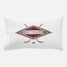 Latvijas Hokejs Flag Pillow Case