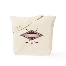 Latvijas Hokejs Flag Tote Bag