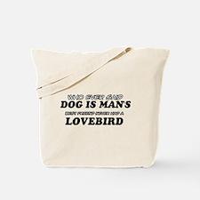 LoveBird pet designs Tote Bag