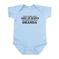 Oranda pet designs Infant Bodysuit