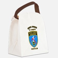 SOF - Mike Force - II Corps Canvas Lunch Bag