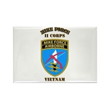 SOF - Mike Force - II Corps Rectangle Magnet