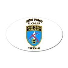 SOF - Mike Force - II Corps Wall Decal