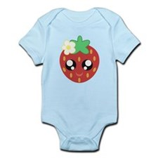 Cute strawberry Body Suit