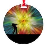 Golfing Round Ornament