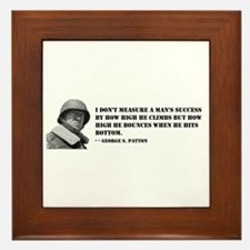 General George Patton on Measuring Success Framed