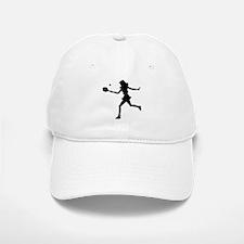 Girls Tennis Silhouette Cap