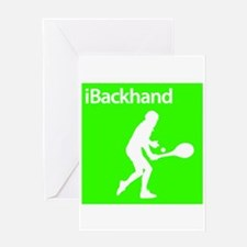 iBackhand Greeting Card