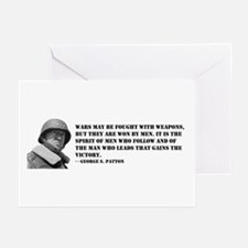 George Patton on Spirit Greeting Cards (Package of