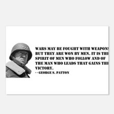 George Patton on Spirit Postcards (Package of 8)