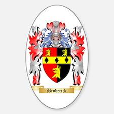 Broderick Sticker (Oval)