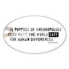 Anthropology Rectangle Decal