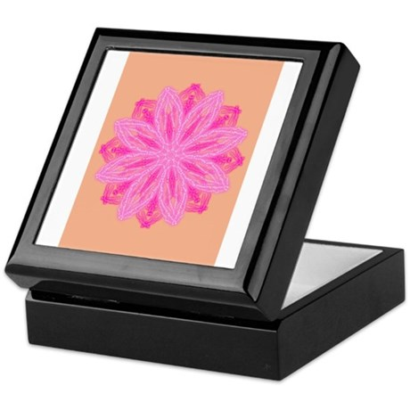 Flower Mandala Keepsake Box