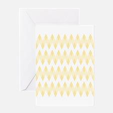 Light Tan Color Pattern. Greeting Card