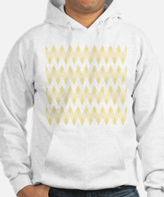 Light Tan Color Pattern. Hoodie
