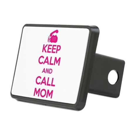Keep Calm Call Mom Hitch Cover