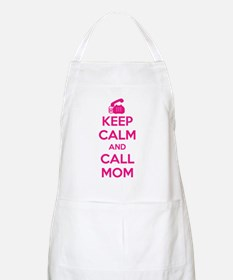 Keep Calm Call Mom Apron
