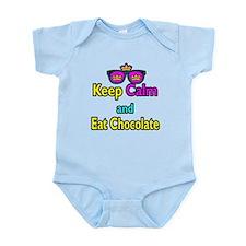 Crown Sunglasses Keep Calm And Eat Chocolate Infan