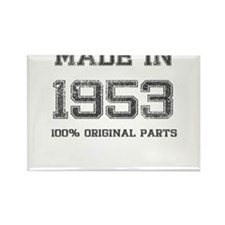 MADE IN 1953 100 PERCENT ORIGINAL PARTS Rectangle