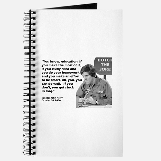 John Kerry - Botched the Joke Journal