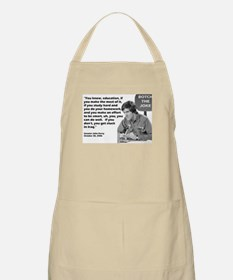John Kerry - Botched the Joke BBQ Apron