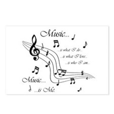 Music is Me Postcards (Package of 8)