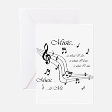 Music is Me Greeting Cards (Pk of 10)