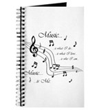 Singing notes Journals & Spiral Notebooks