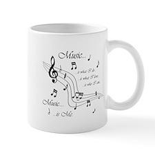 Music is Me Small Mugs