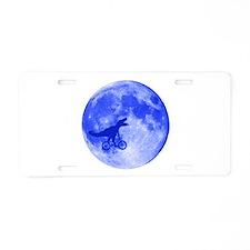 T-Rex Moon Aluminum License Plate
