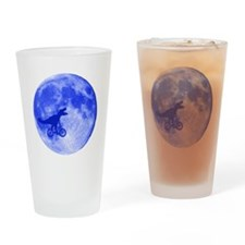 T-Rex Moon Drinking Glass