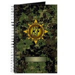 HFPACK Gold Insignia Woodland Camo Field Notebook