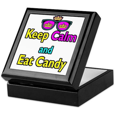 Crown Sunglasses Keep Calm And Eat Candy Keepsake
