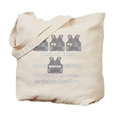 Castle Under Arrest Tote Bag