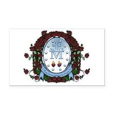 Miraculous Medal 2 Rectangle Car Magnet