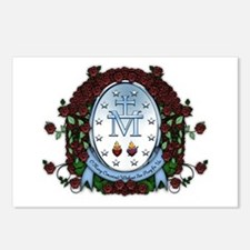 Miraculous Medal 2 Postcards (Package of 8)
