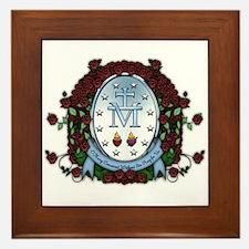 Miraculous Medal 2 Framed Tile