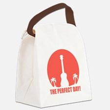 Perfect Sunset Ukulele Canvas Lunch Bag