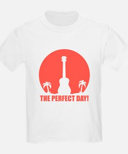 Perfect Sunset Ukulele T-Shirt