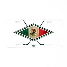 Hockey Sobre Hielo Mexico Aluminum License Plate